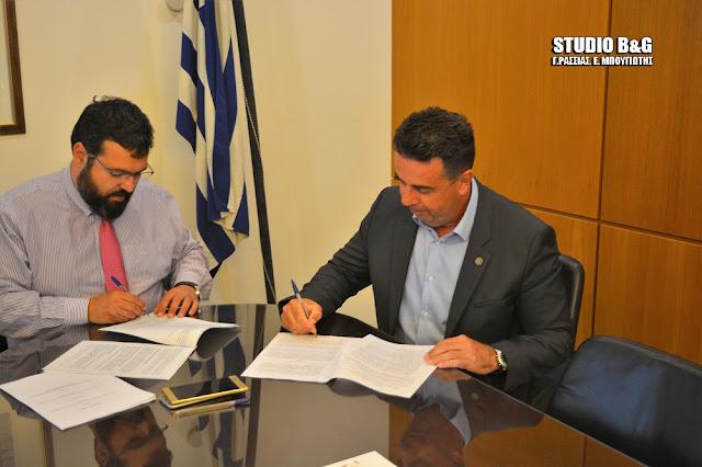 Υπογράφει η προγραμματική σύμβαση για το κολυμβητήριο Ναυπλίου