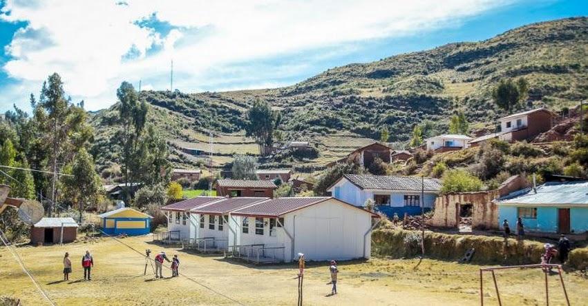 PRONIED invertirá 15 millones de soles en instalación de 102 módulos educativos para proyectos de reconstrucción en Ancash - www.pronied.gob.pe