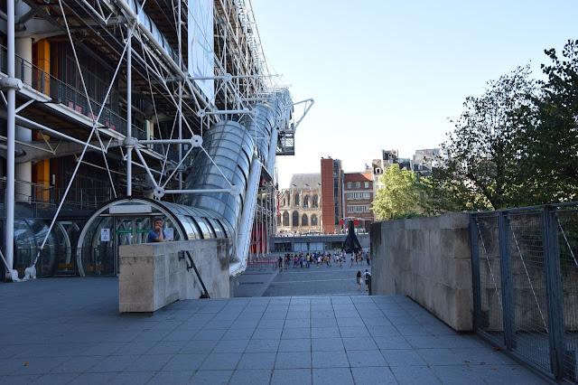 Paryż w pigułce #1 - Centre Pompidou - zdjęcie 5 - Francuski przy kawie