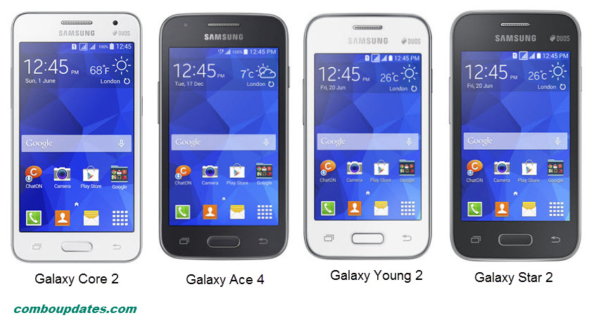 Samsung launches 4 new smart phones in Galaxy series Galaxy Core II, Galaxy Star 2, Galaxy Ace 4, and Galaxy Young 2
