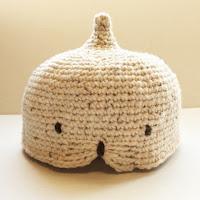 細編みどうぶつどんぐり帽子