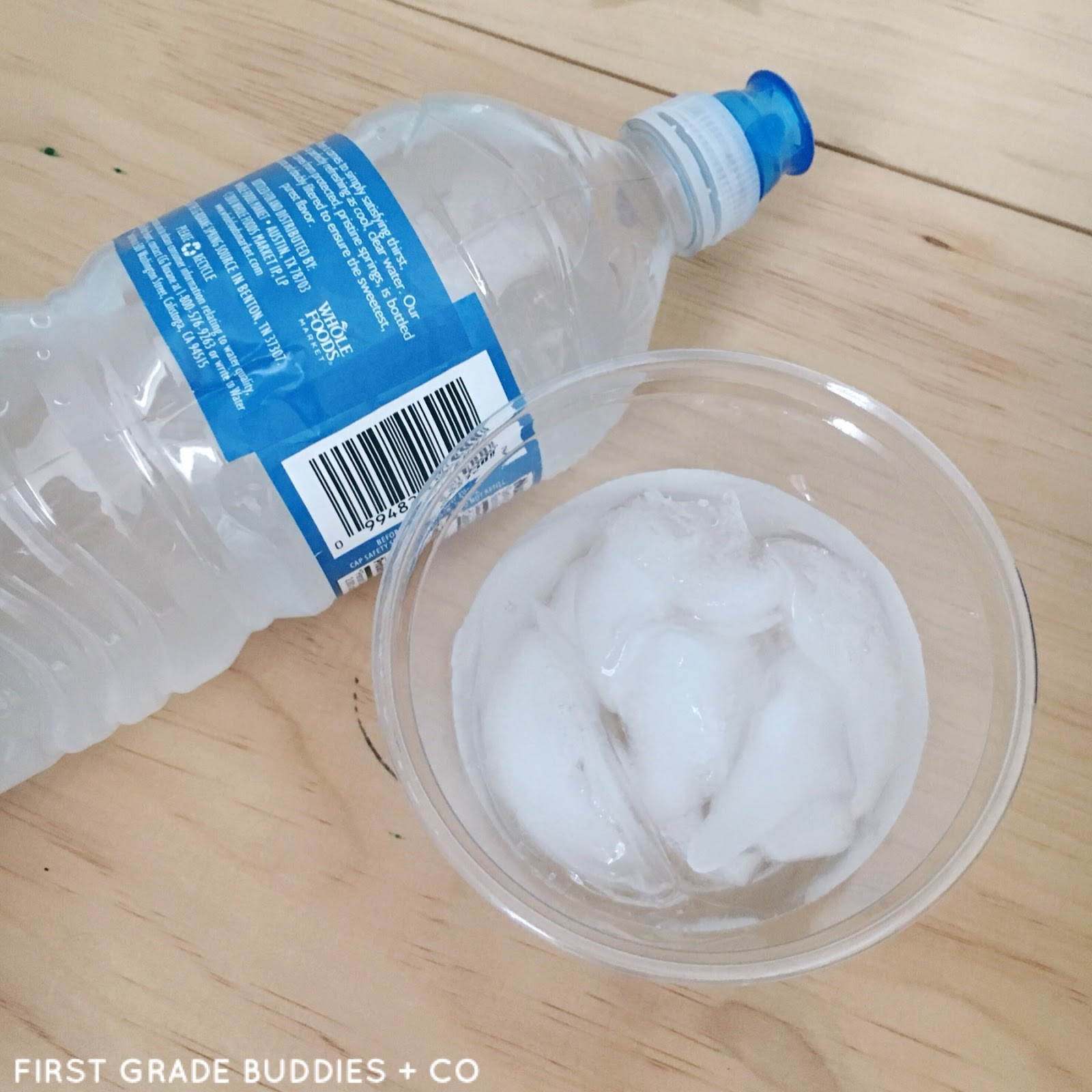 Simple Science: Making Ice Grow | First Grade Buddies