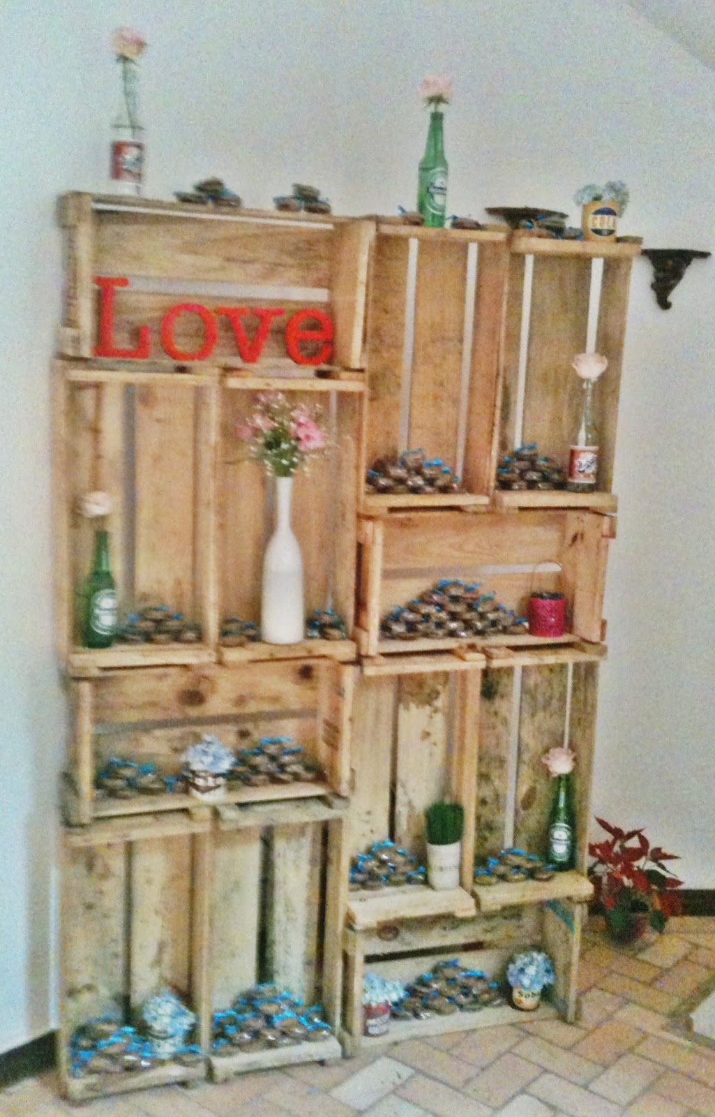Planejar para casar caixa caixinha caixote for Como decorar una habitacion rustica