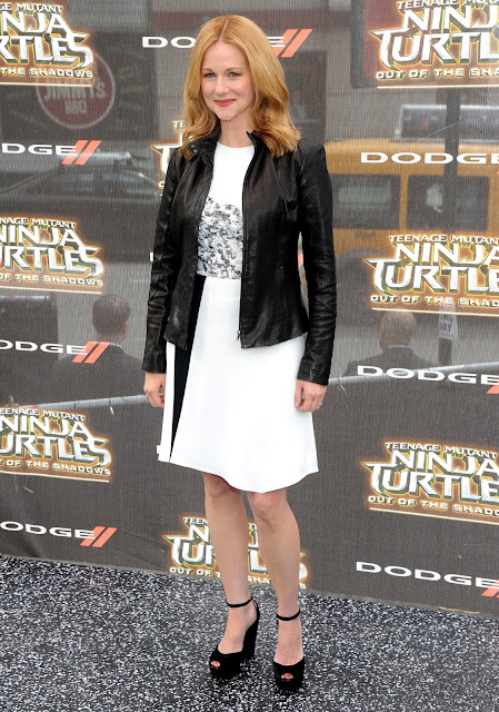 Actress, Singer, @ Laura Linney - 'Teenage Mutant Ninja Turtles: Out of the Shadows' Premiere in NYC