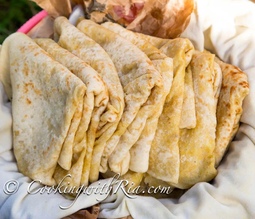 Dhal Puri   Trinidad Split Pea Stuffed Flatbread - Vegan ...   Trinidad Dhal Puri