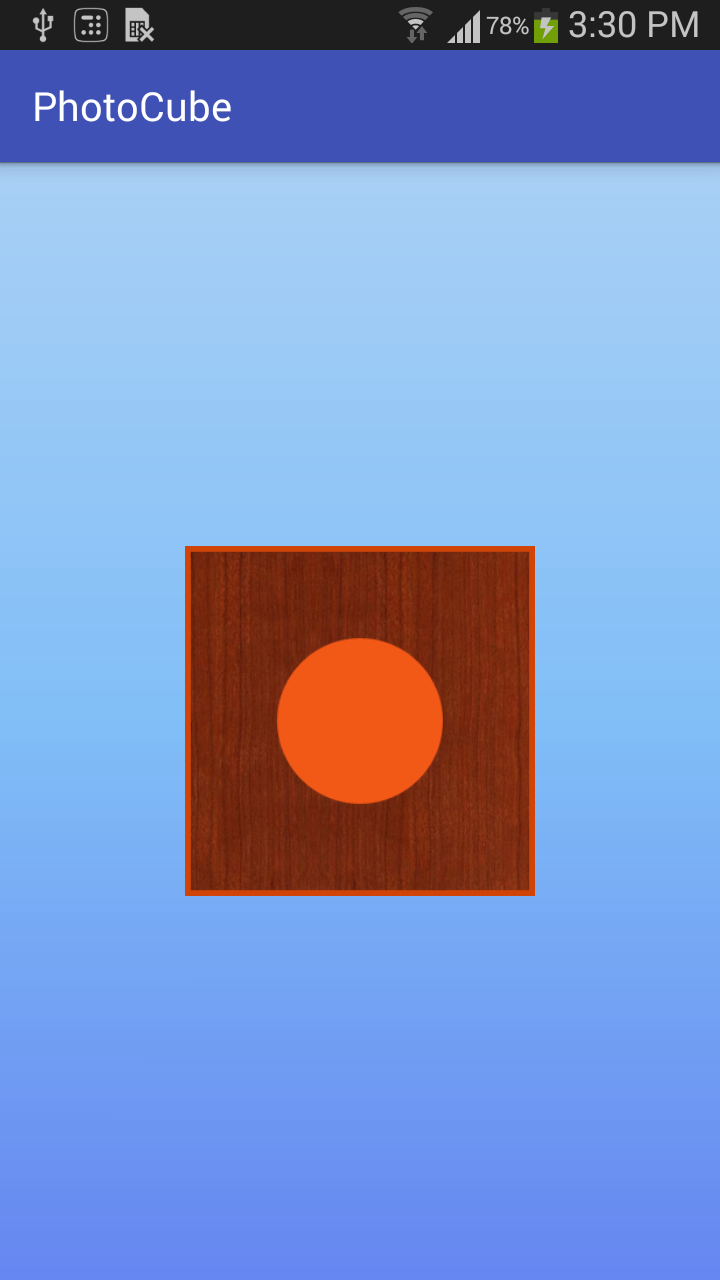 Draw 3D photo cube with OpenGL in Android - Android Tips