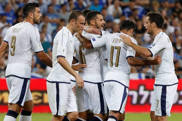 Italia Sukses Kalahkan Israel Dengan Skor 3 – 1