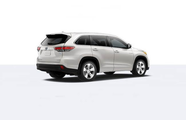 2017 Toyota Highlander Hybrid Limited Redesign