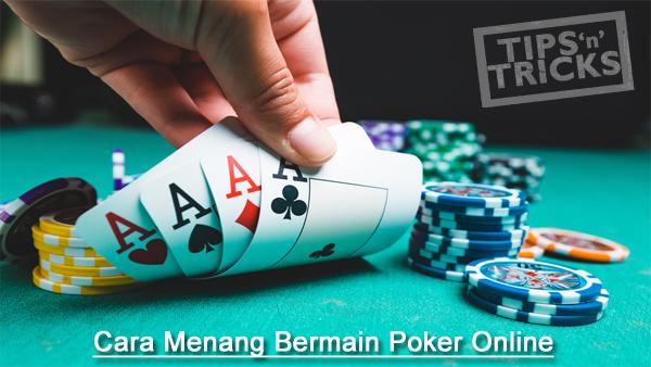 Hasil gambar untuk tips dan trick bermain poker