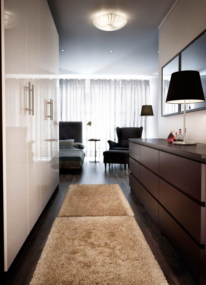 yj pi knie sypialnia i garderoba 2015 czyli inspiracje ikea. Black Bedroom Furniture Sets. Home Design Ideas