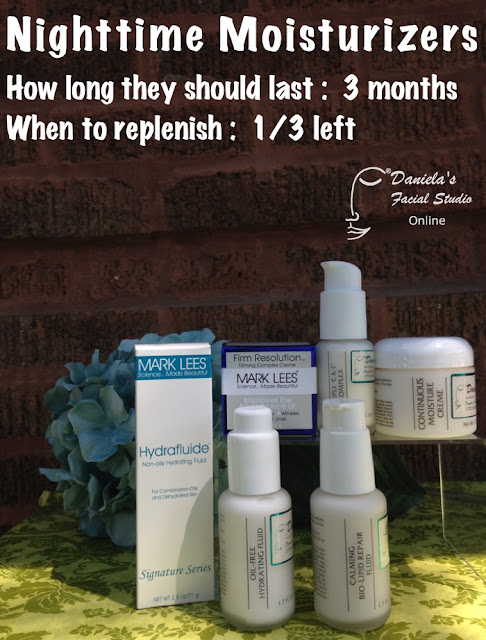 how long should nighttime moisturizer last