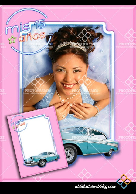 15th Birthday Quinceanera Photo Frame