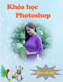 Sản phẩm của học viên từ khóa học Photoshop tại Hoài Đức
