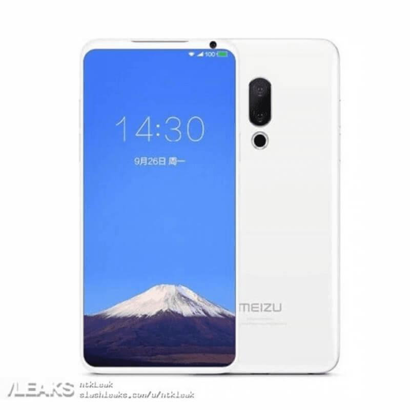 Meizu 16 Series to Sport In-Display Fingerprint Scanner