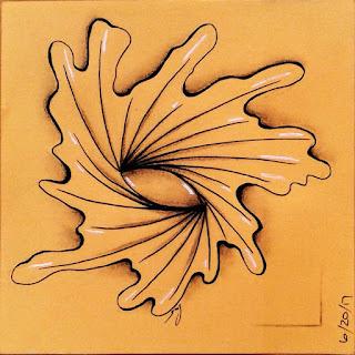 Yuma tangle pattern tangelation