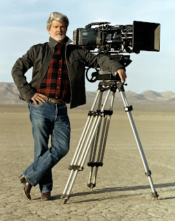 El director George Lucas