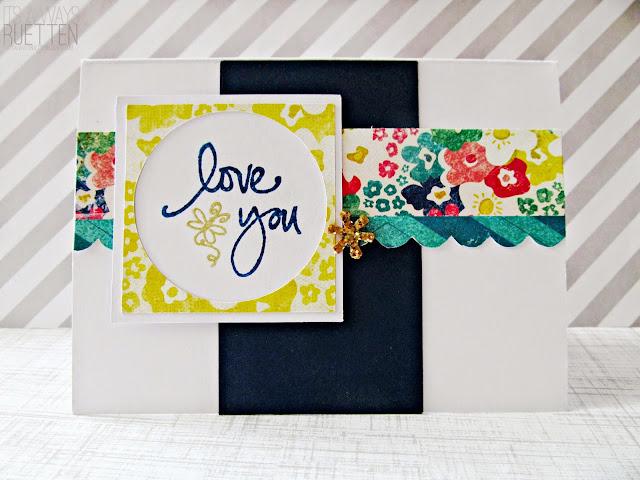 Love You Like A Bee Loves Honey Card #MOJO342