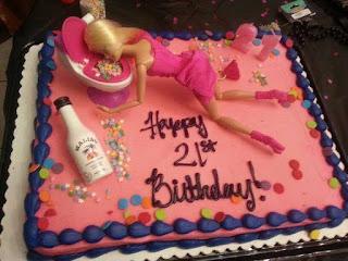 Fotos de humor - torta de barbie en pedo