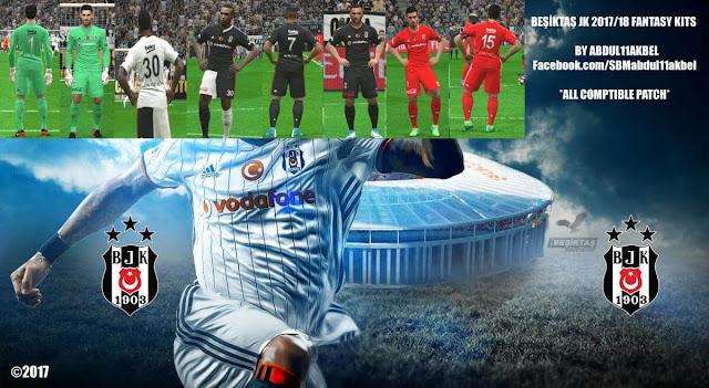 Beşiktaş JK 2018 Kit PES 2017