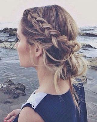 peinados con trenzas tumblr de moda casual
