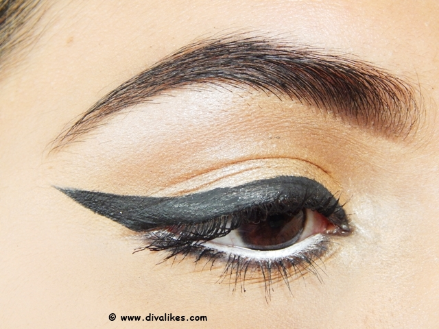 It is a very easy look and you can also customize the way you want. So, scroll down to see how I have created the Bollywood Retro Eye Makeup and also let me ...
