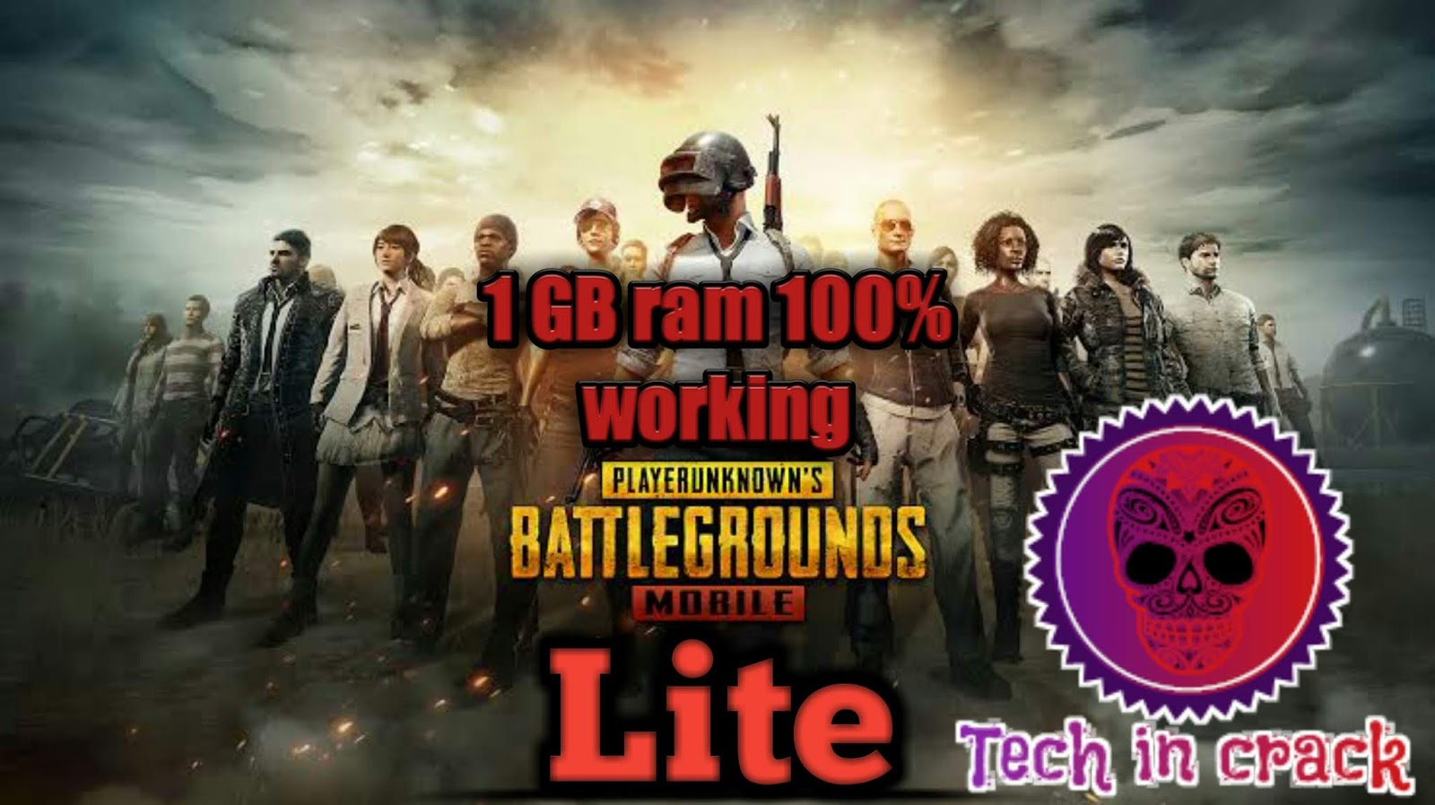 HOW TO RUN PUBG MOBILE LITE 1 GB RAM MOBILE | pubg mobile lite