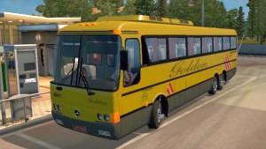 Monobloco Mercedes O-400 RSD bus mod