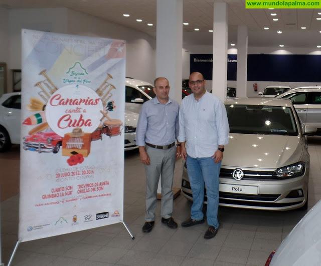 Domingo Alonso La Palma, suministrador oficial de vehículos de 'Canarias canta a Cuba'