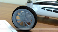 SongYang X25-1 Flying Quadcopter Car Wheel