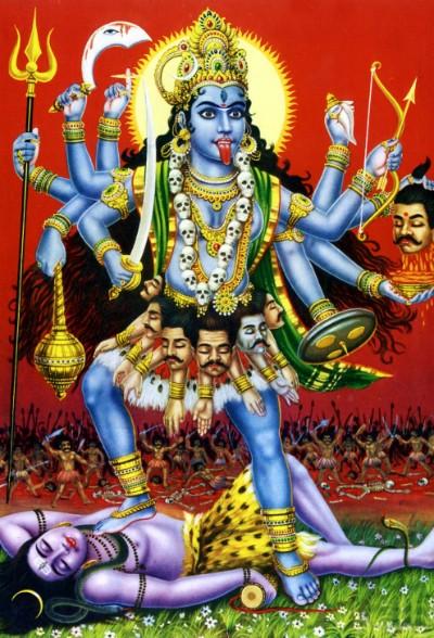 Hindu Godgoddess mahakali picture