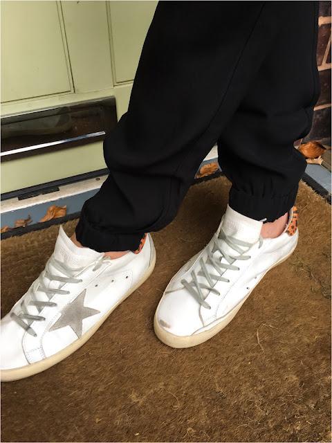 My Midlife Fashion, Great Plains Misha Crepe Joggers