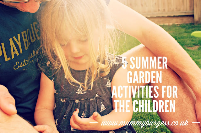 5 summer garden activities for children