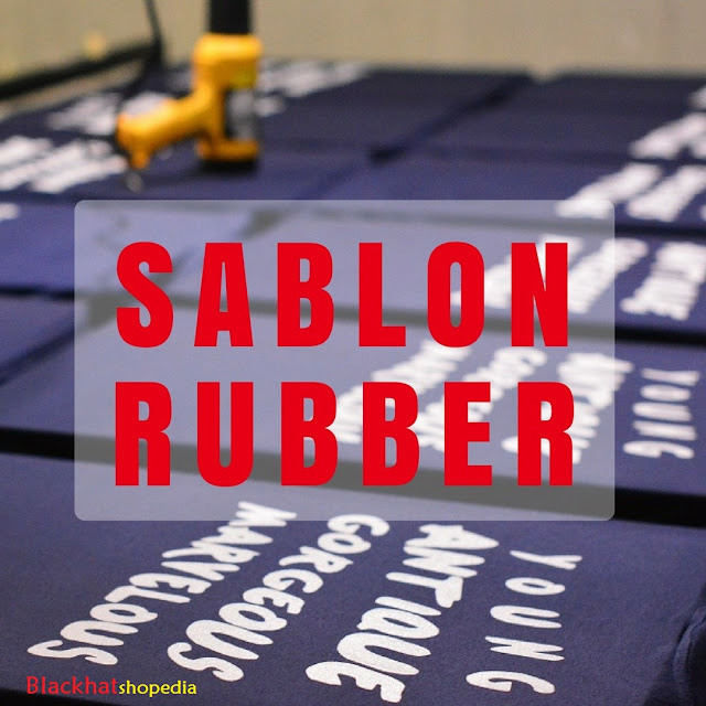 Harga Sablon Rubber