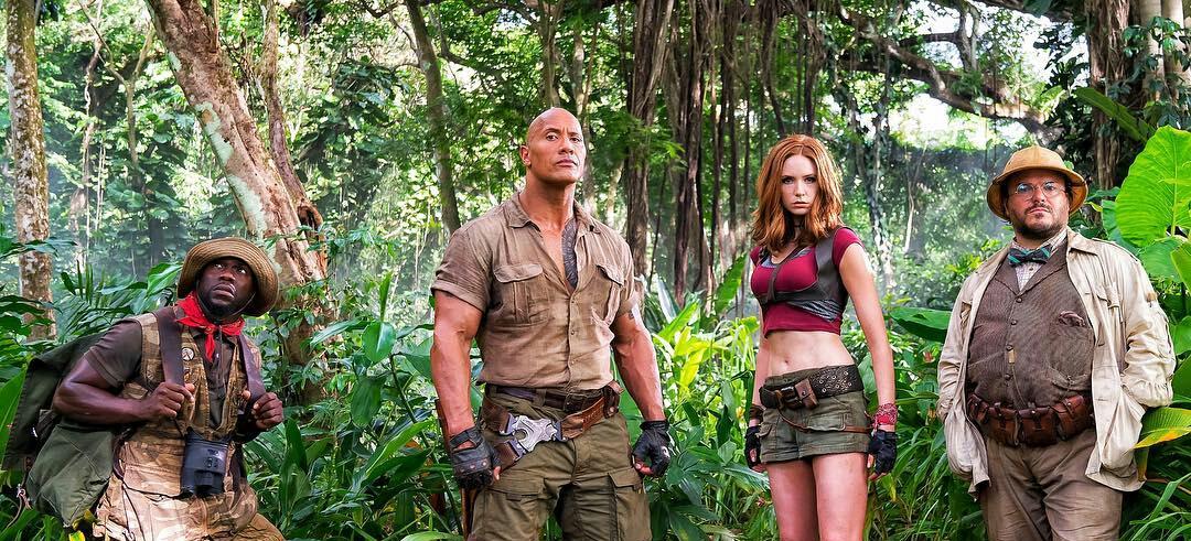 Sony Pictures's Jumanji: Welcome to the Jungle Gets Teaser Trailer.