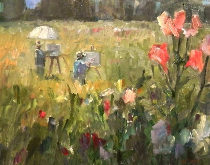 Американский художник. Thomas Wezwick