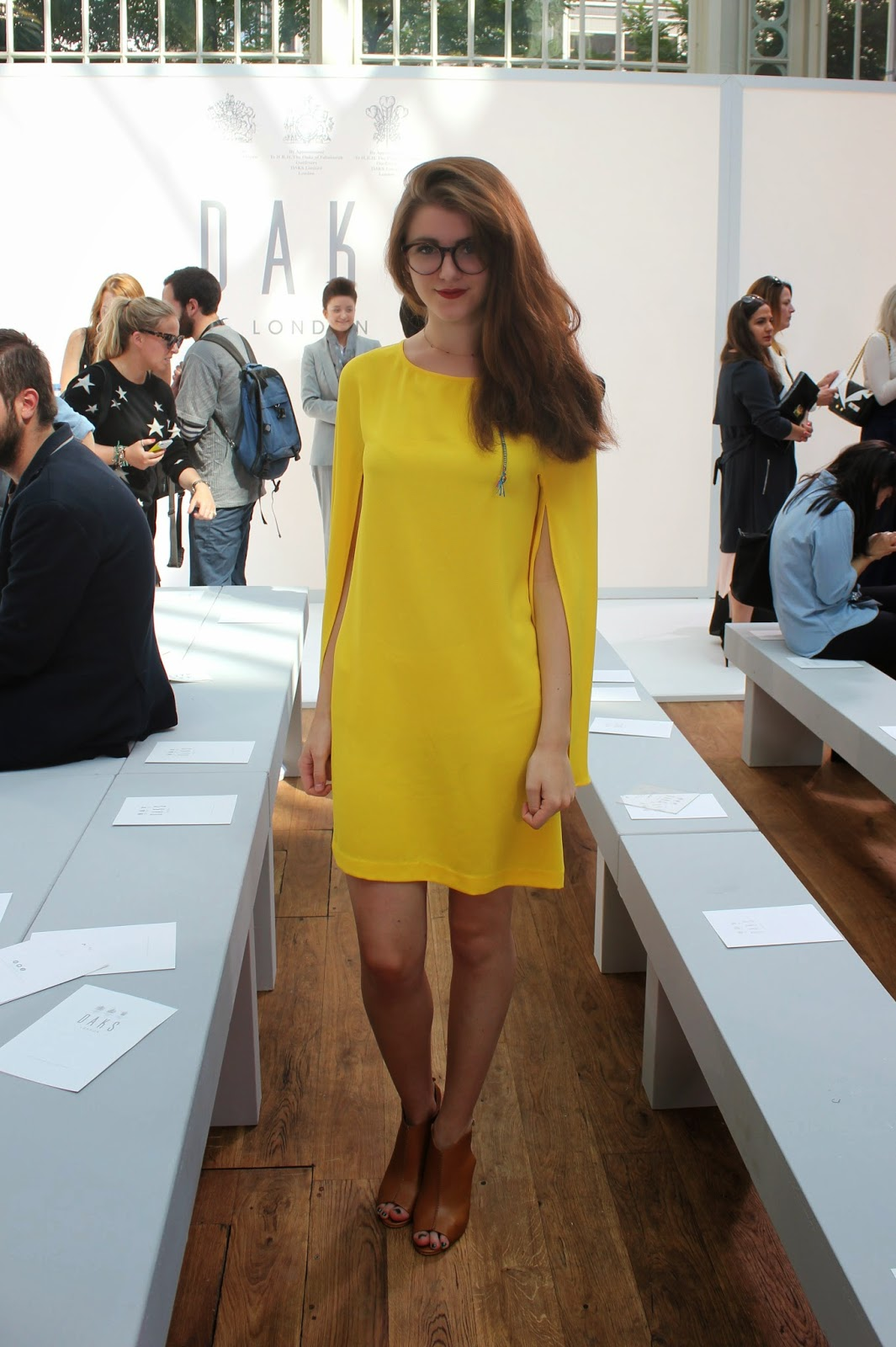 london-fashion-week-2014-lfw-DAKS-show-catwalk-spring-summer-2015-clothes-fashion-royal-opera-house-dress-girl-OOTD-heels