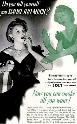 Jolt Cigarettes -- Do you tell yourself you smoke too much?