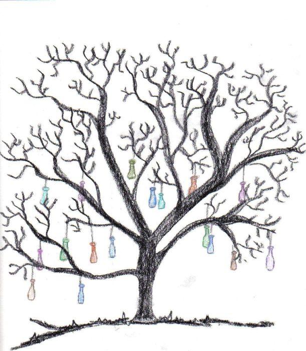 The Fairy Mom's Journal: Bottle Tree