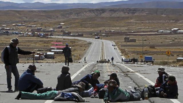 """""""Cooperativas mineras en Bolivia elaboran acción conspirativa"""""""