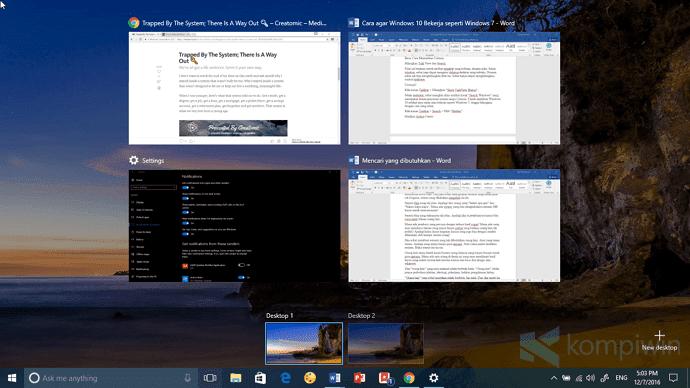 cara agar windows 10 seperti windows 7