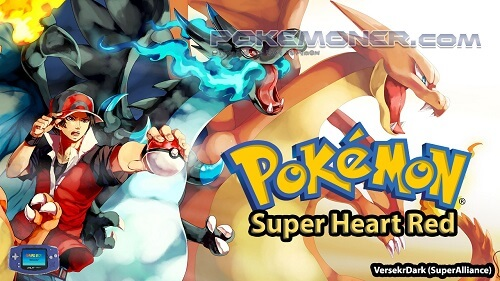Pokemon Super Heart Red