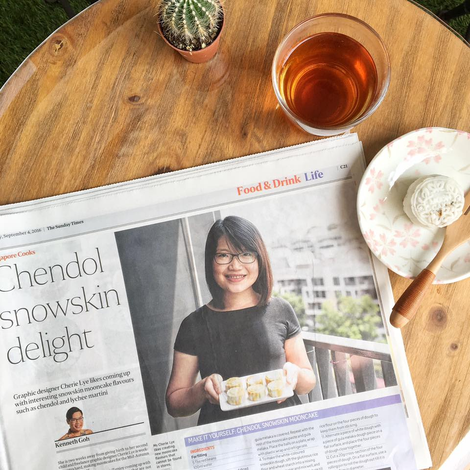Chendol Snowskin Delight The Sunday Times Singapore Cooks