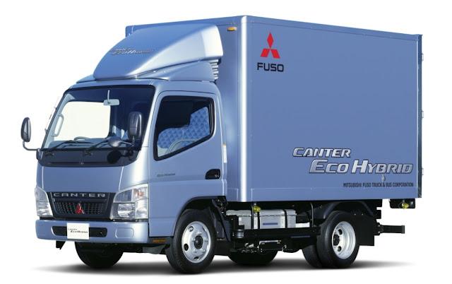 modifikasi truk mitsubishi fuso canter hybrid