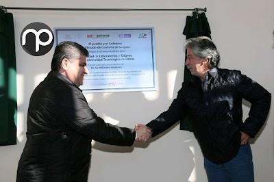 ENTREGA GOBERNADOR DE COAHUILA AMPLIACIÓN DE LA UTP