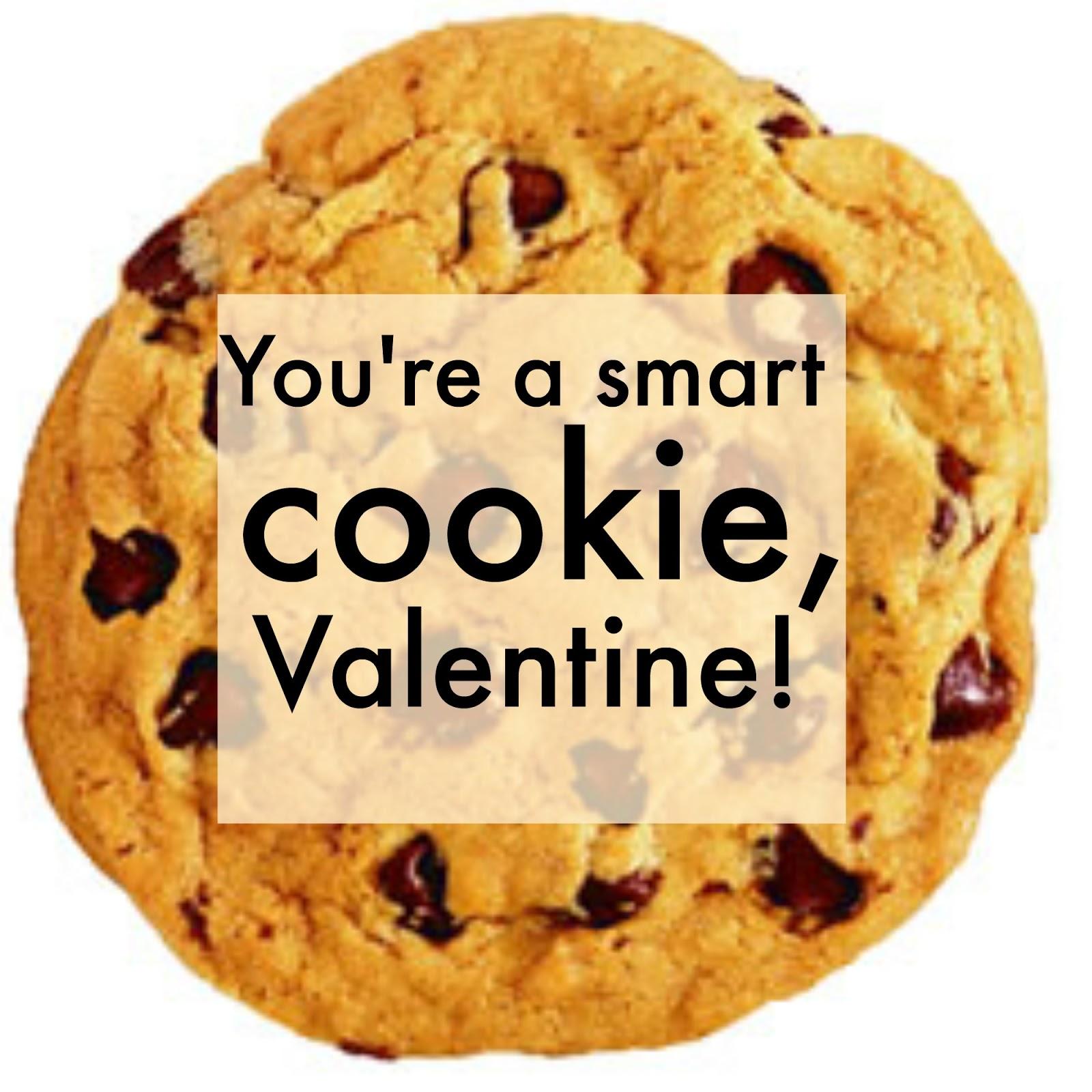 Michelle Paige Blogs Chocolate Chip Cookie Valentines