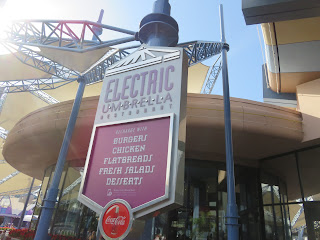 Electric Umbrella Sign Outside Epcot
