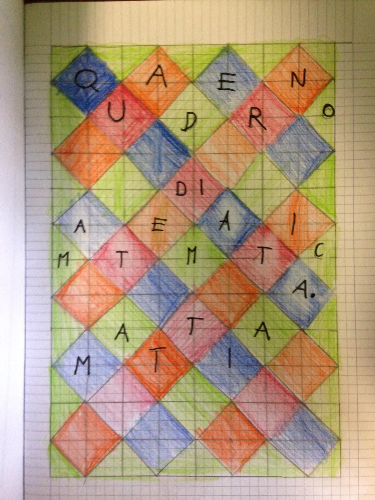 Chi Ben Comincia Una Bella Copertina Matematica Per Il Quaderno