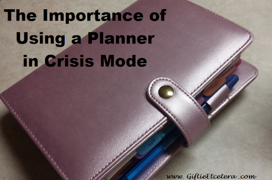 The Importance of Using a Planner in Crisis Mode