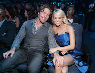 Carrie Underwood And Mike Fisher Conference