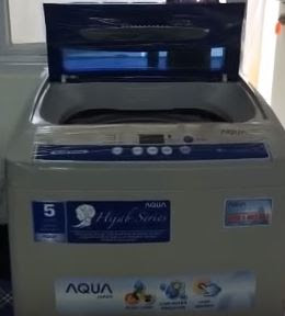 Review Mesin Cuci Sanyo Aqua 1 Tabung Kapasitas 9 Kg, Dijamin Paling Murah!